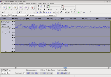 SBRG pubblica una interessante registrazione sonora